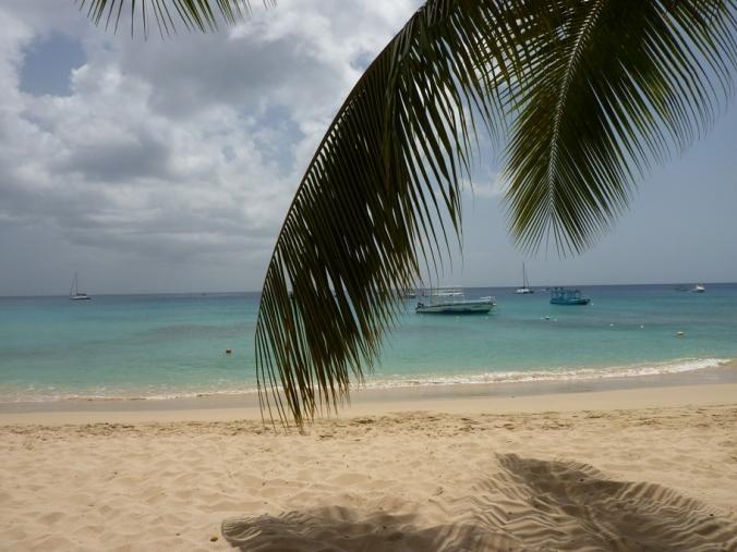 a barbados beach